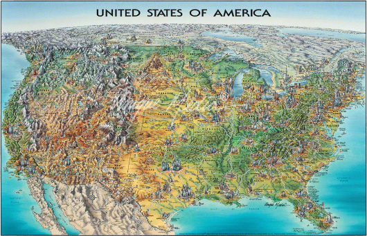 Map Of USA Unique Media Maps - Photo of usa map
